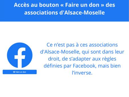 C'est à Facebook de s'adapter au droit local d'Alsace et de Moselle, et non l'inverse !