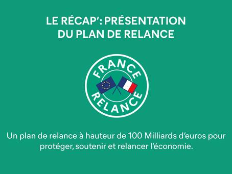 "Présentation du plan ""France Relance"""