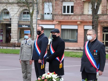 Cérémonie en mémoire des victimes civiles et militaires de la guerre d'Algérie