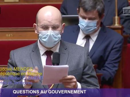 Prise de parole lors des Questions au Gouvernement