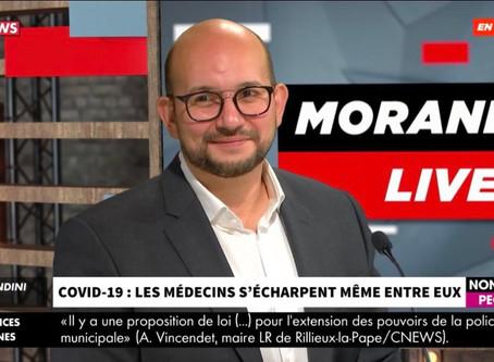 Invité de l'émission Morandini Live