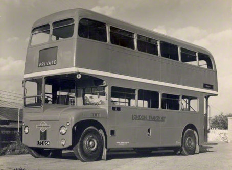 History of the Routemaster Bus Part 1 - The 1950s and 1960s.