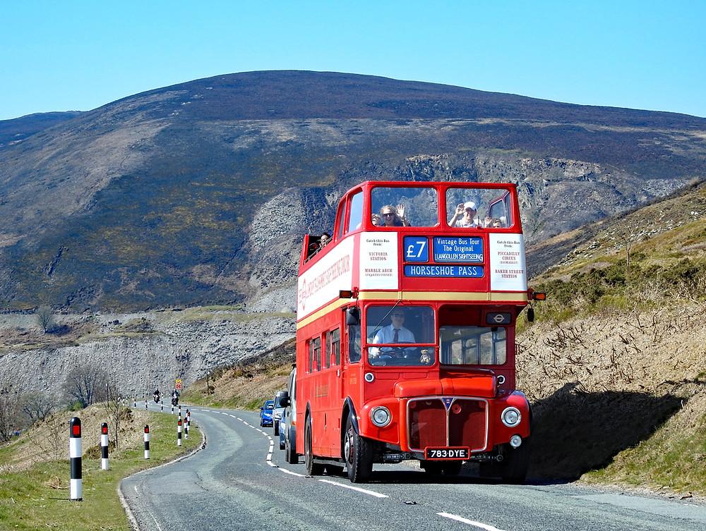 Llangollen Sightseeing open top bus tour