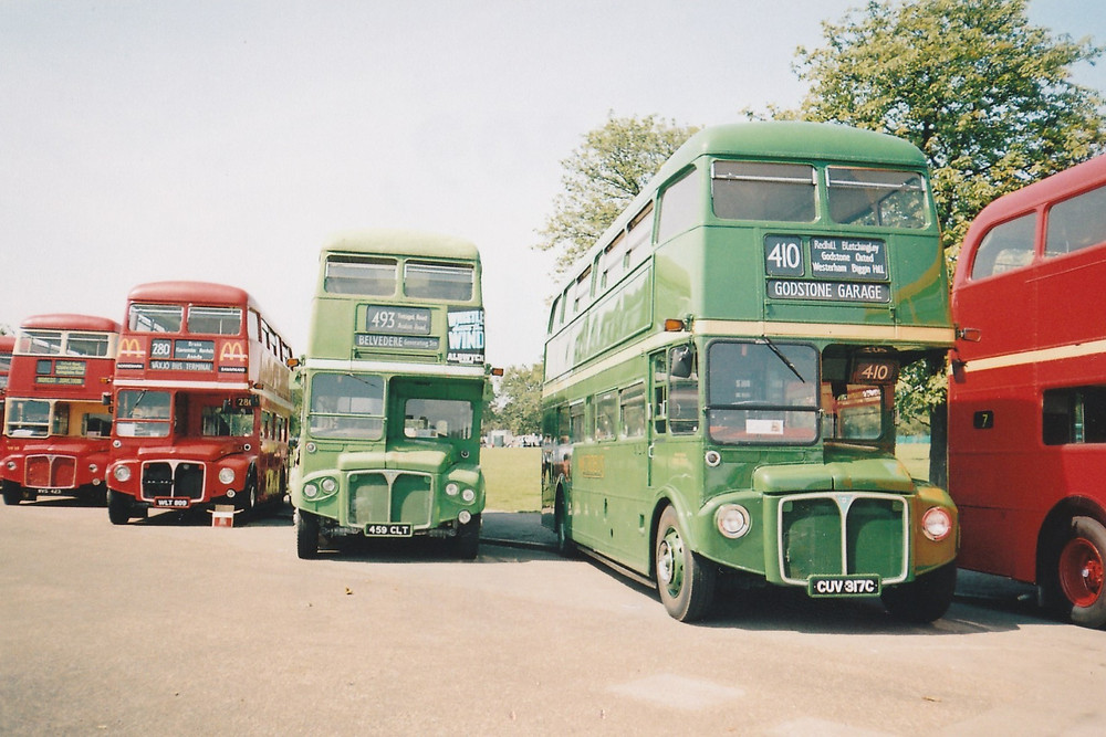RM 809, RMC 1459 and RML 2317 at the RM50 rally, July 2004 © Mike McDermott