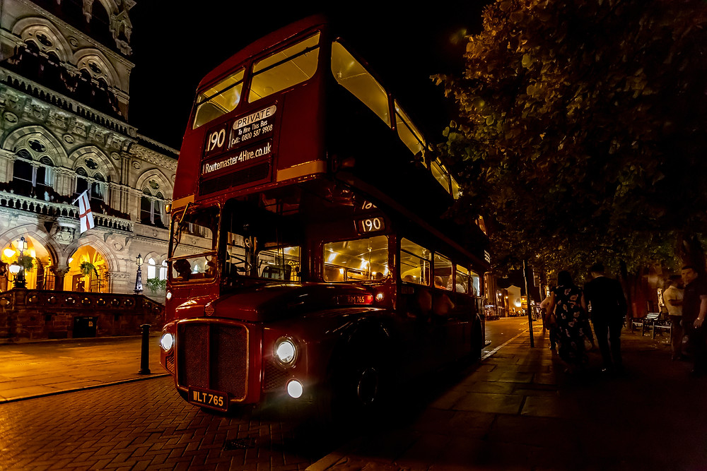 Vintage Bus Hire for Weddings and Special Events | Routemaster4Hire