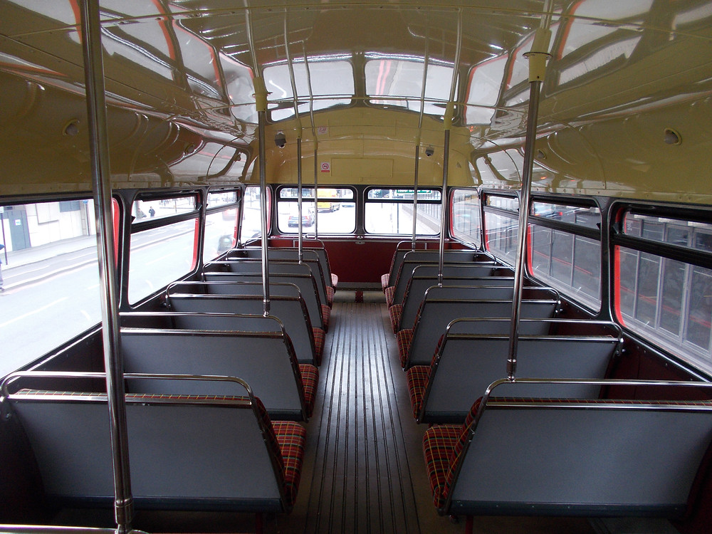 Upper deck interior of RM 1933