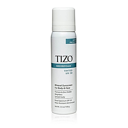 TIZO SheerFoam Sunscreen (tinted) SPF 30