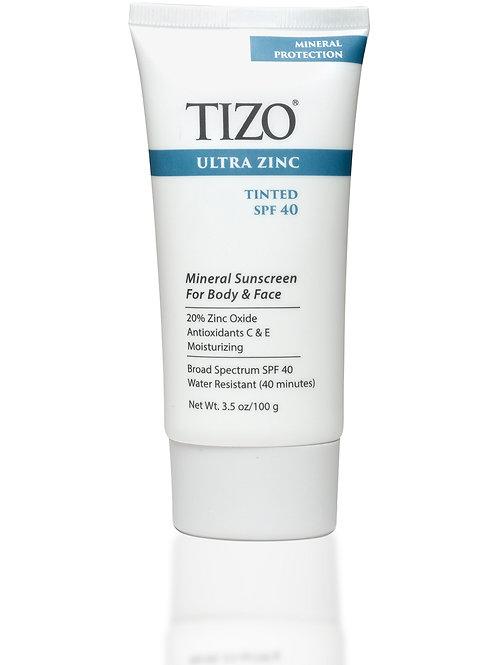 TIZO Ultra Zinc Body & Face (tinted) SPF 40