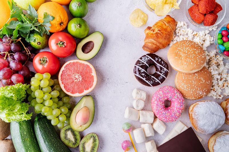Good vs Bad Sugary Foods
