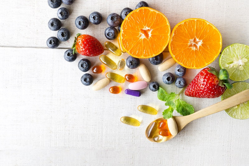 Healthy Fruits and Supplements