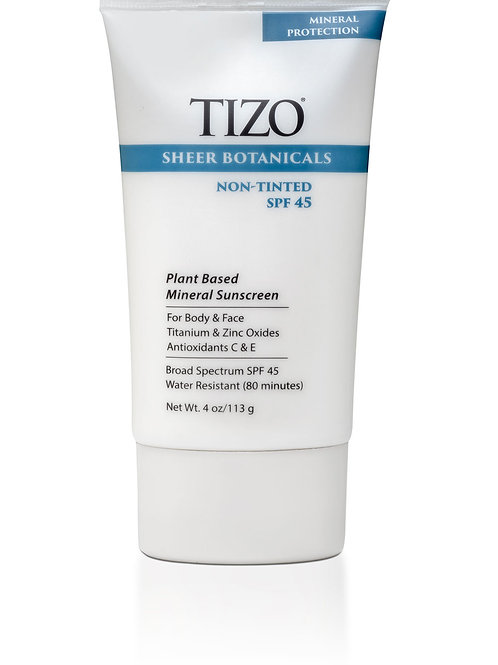 TIZO Sheer Botanicals (non-tinted)