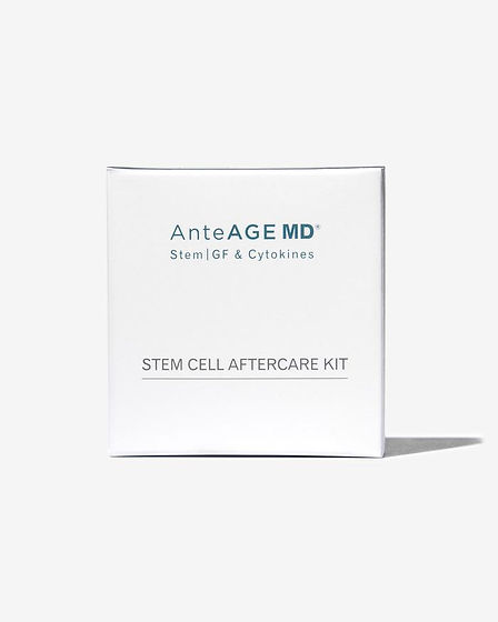 AnteAGE® MD Stem Cell Aftercare Kit