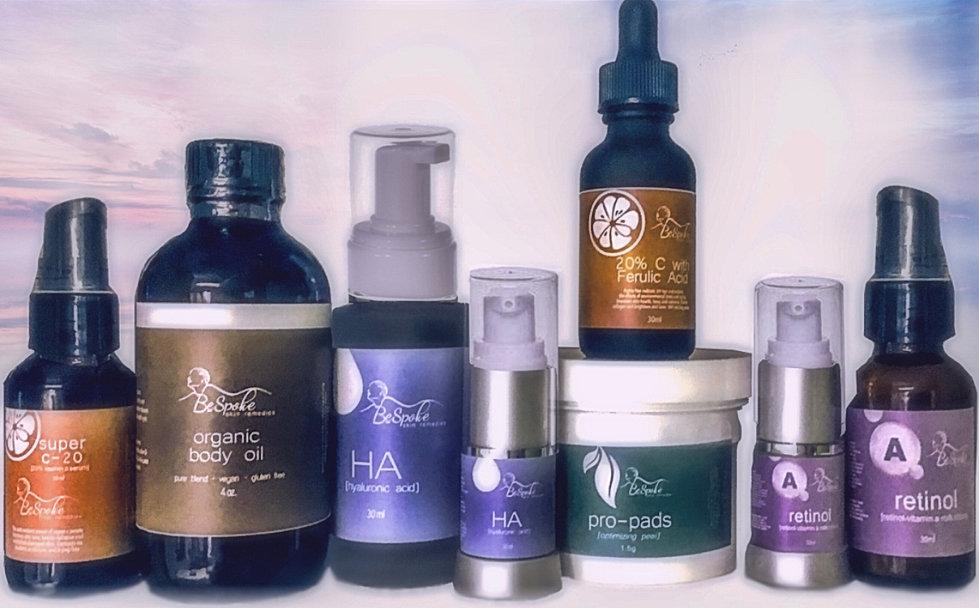 bespoke skin remedies