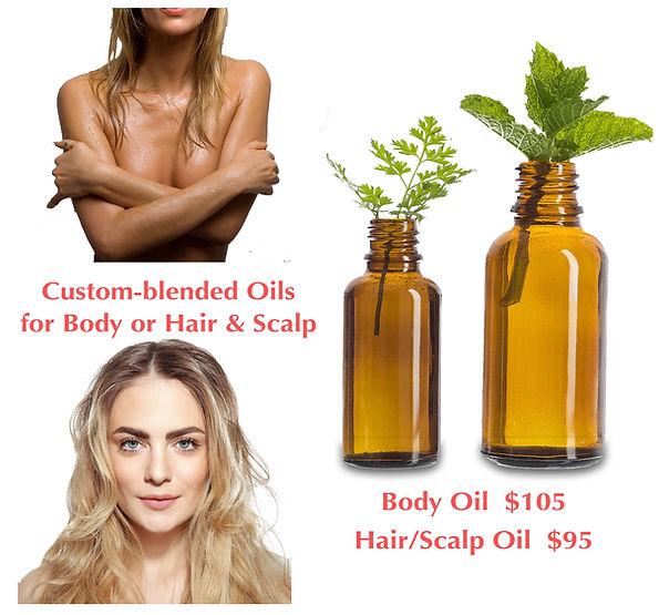 custom blended oils