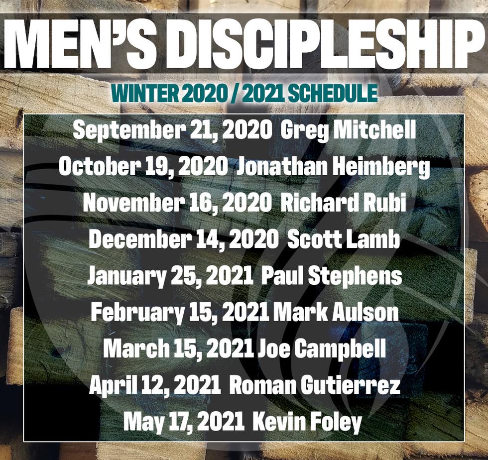 Southwest Men's Discipleship Classes