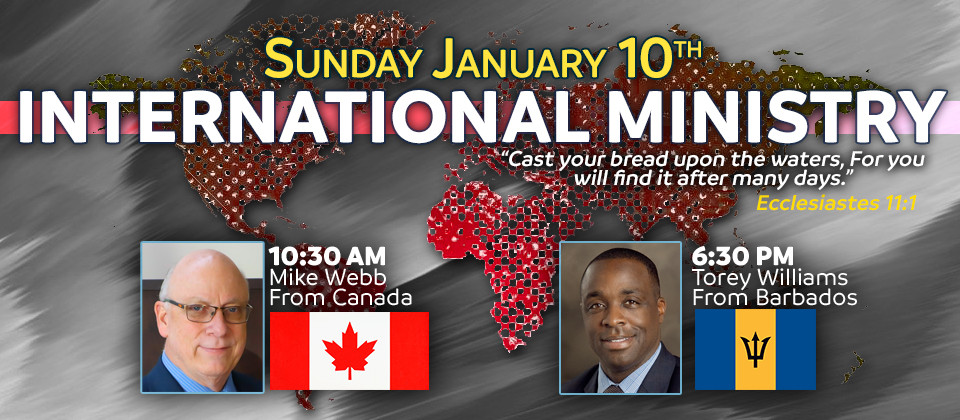International Ministry featuring Mike Webb and Torey Williams