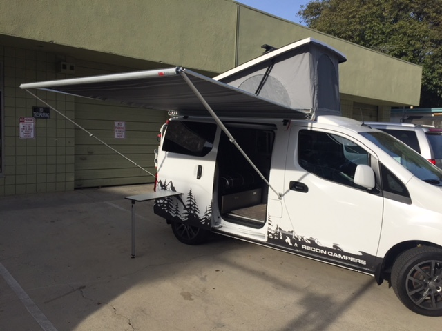 ENVY w/ top up, awning out