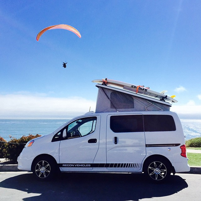 Recon Campers   The Future of Pop Top Camper Vans in the USA