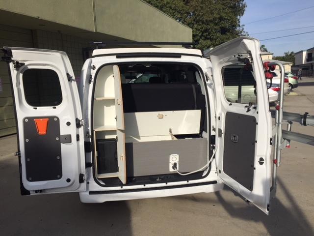 ENVY Rear storage