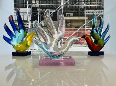 "Sabine Wiedenhofer -  ""Give Peace a Hand"""