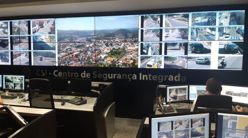 CSI Centro de Segurança Integrada Guararema