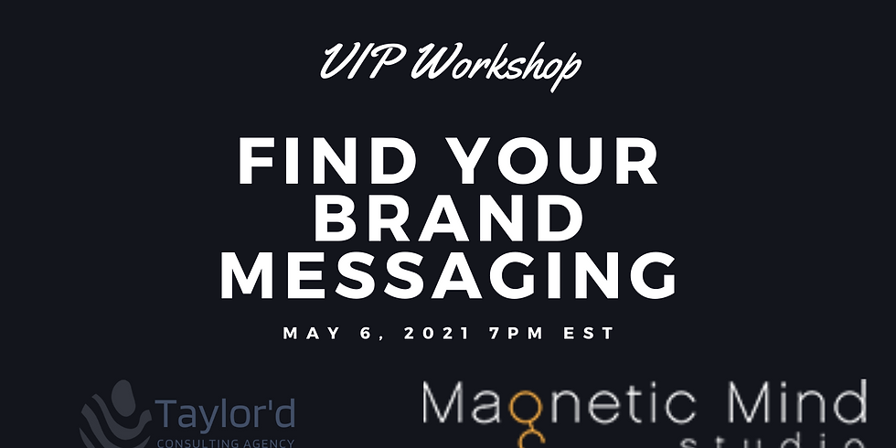 Find Your Brand Messaging