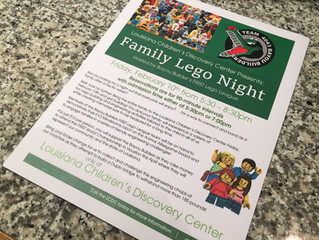 Making Plans for Family Lego Night