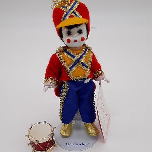 Vintage 1993 Toy Soldier - Madam Alexander Storyland Doll Collection w/ Stand