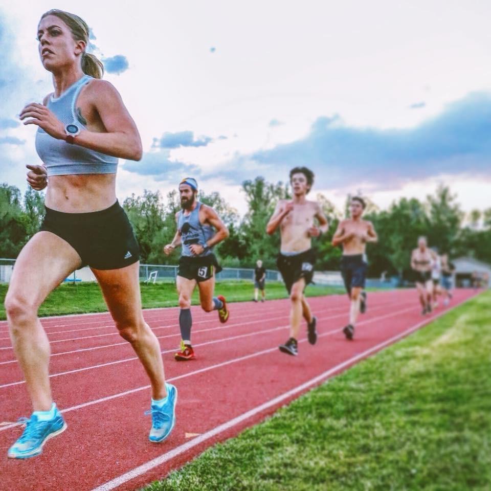 Boulder track running
