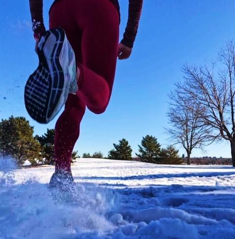 running heel recovery