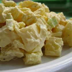 Classic, Almost Healthy Potato Salad