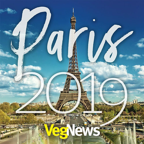 2019 VegNews Vegan Epicure's Tour of Paris