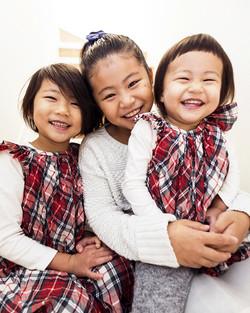 九州の出張撮影は、井下良治写真事務所にお任せ。3姉妹