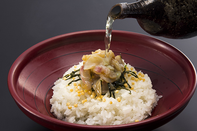 九州の出張撮影は、井下良治写真事務所にお任せ。料理撮影 鯛茶漬け