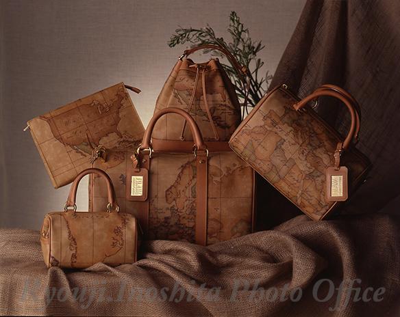 九州の出張撮影は、井下良治写真事務所にお任せ。商品撮影 ハンドバッグ集合