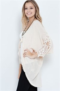 Stella Kimono Crochet Arm