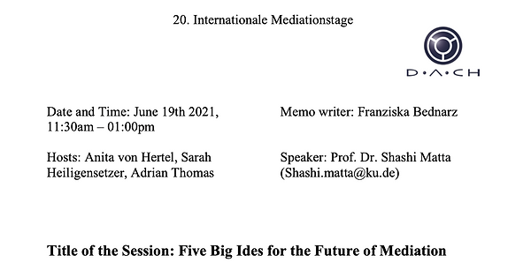 Cover_IMT_Memo_Matta_Five Big Ides for the Future of Mediation_eng.pdf.png