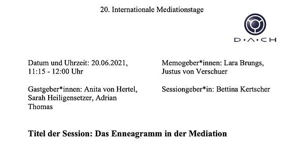 Cover_IMT_Memo_Enneagramm in der Mediati