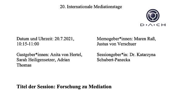 Cover_IMT_Memo_Forschung zu Mediation.pn