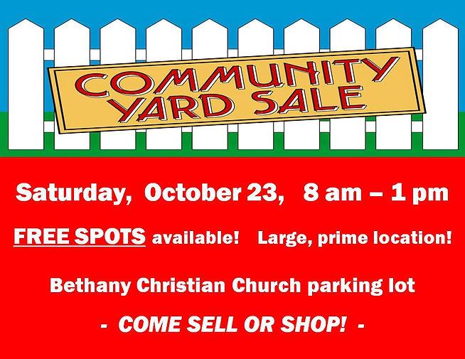Community yard sale 10.21 enews.jpg