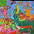 FT/15 - Art Sweet Art (5 panneaux) - oil and elements/canvas - 217x220 cm