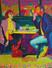 FT/9 - Brunch - oil and elements/canvas - 146x114 cm