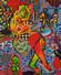 FT/27 - Café Prado - oil and elements/canvas - 73x60 cm