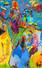 FT/7 - Autoportrait Jour/Nuit - oil and elements/canvas - 160x100 cm
