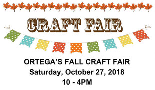 Calling All Crafters - Craft Fair Oct 27th!!