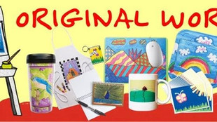 It's magnet time- Order gifts with your kids' artwork!