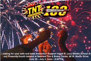 IBL Firework Booth: 6/29 -7/4