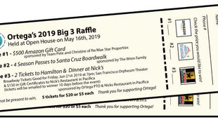 Big 3 Raffle Tickets Are Here
