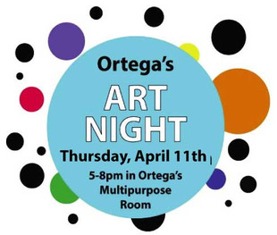 Volunteers for Art Show- All Next Week!
