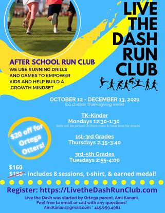Live The Dash Run Club